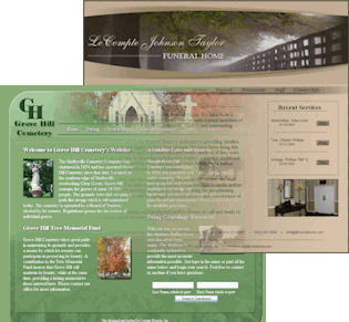 Loving honors a celebration of life funeral home website design philosophy - Funeral home web design ...